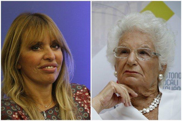 """Alessandra Mussolini contro Segre: """"Si trasforma da nonnina a ..."""