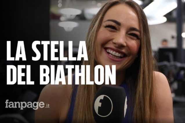 """Dorothea Wierer, la stella del biathlon a Fanpage.it: """"Mille"""