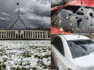 Australia, dopo i roghi è allerta tempeste: grandine come pa