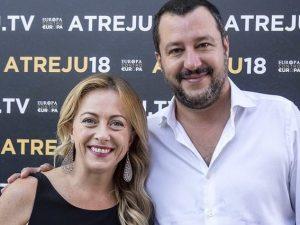 Dio, Onore, Nazione: Salvini e Meloni star dell'evento della destra ...