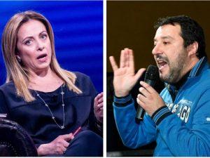 """Salvini e Meloni replicano a Conte sul Mes: """"Tracotante, son"""