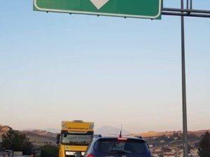 Tragedia sfiorata sull'A14 |  tir imbocca l'autostrada contromano