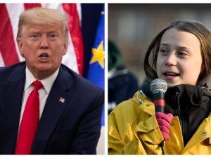 A Davos va in scena lo scontro Greta Trump: presidente Usa s