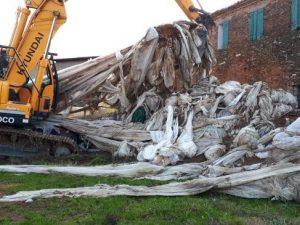 Verona, otto discariche abusive con rifiuti speciali tra cam