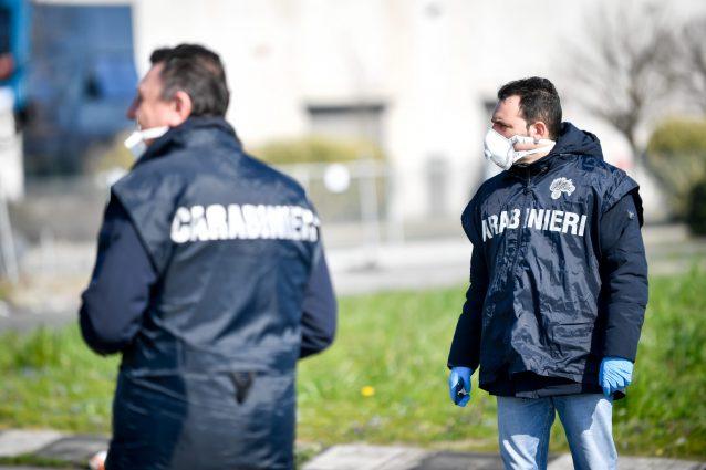 Coronavirus, 18 carabinieri in isolamento a Codogno dopo con