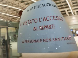Coronavirus in Italia: altri contagi, test positivi in osped