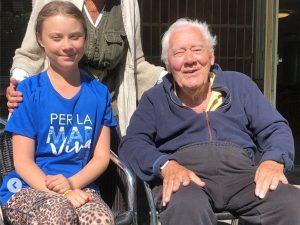 """È morto Olof, il nonno di Greta Thunberg: """"Eri una delle per"""
