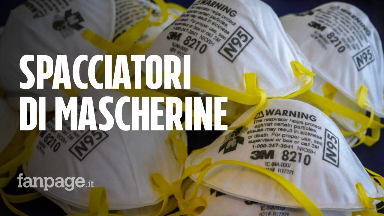 Coronavirus, mascherine vendute fino a 1000 euro l'una con ...
