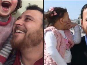 La bambina siriana che rideva sotto le bombe si è salvata: o