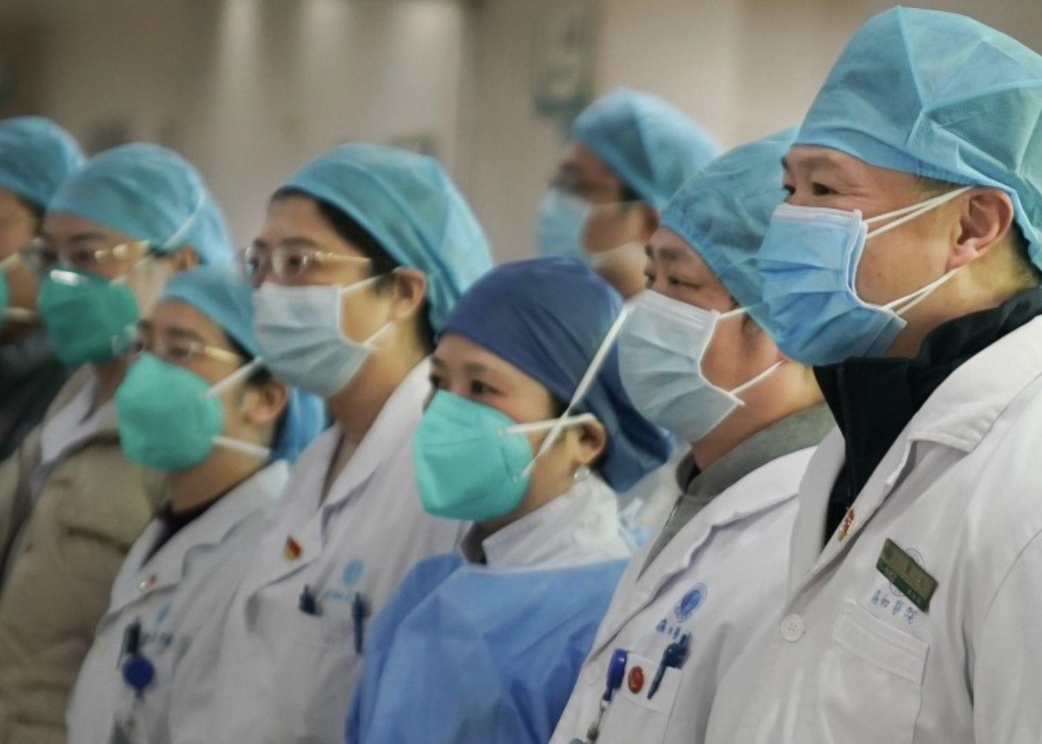La Cina invia il terzo team di medici e forniture mediche all'Italia.