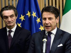 """L'anticipazione di Fontana (Lombardia): """"Domani Conte annunc"""