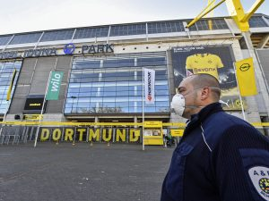 In Germania lo stadio del Borussia Dortmund diventa un osped