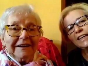 """L'esempio di nonna Lina, guarita a 85 anni: """"Ha vinto grazie"""