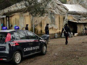 Violenta lite nella baraccopoli di Taurianova: 31enne colpit