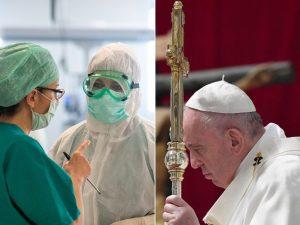 "Papa Francesco: ""Sacerdoti, medici e infermieri sono i santi"