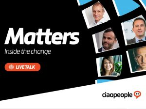 Ciaopeople lancia Matters, dal 15 aprile il format online pe