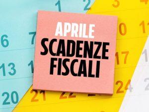 Scadenze fiscali aprile 2020: gli appuntamenti con il Fisco