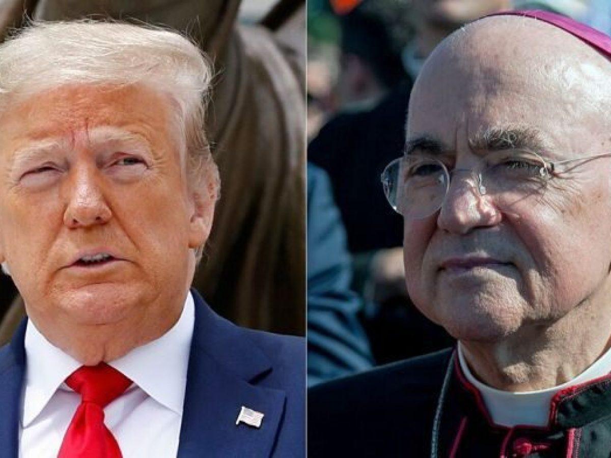 L'arcivescovo che vuole le dimissioni del Papa ha scritto a Trump una  lettera incredibile
