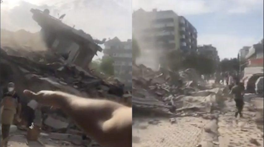 Terremoto tra Grecia e Turchia, scossa di magnitudo 7: edifici crollati ...