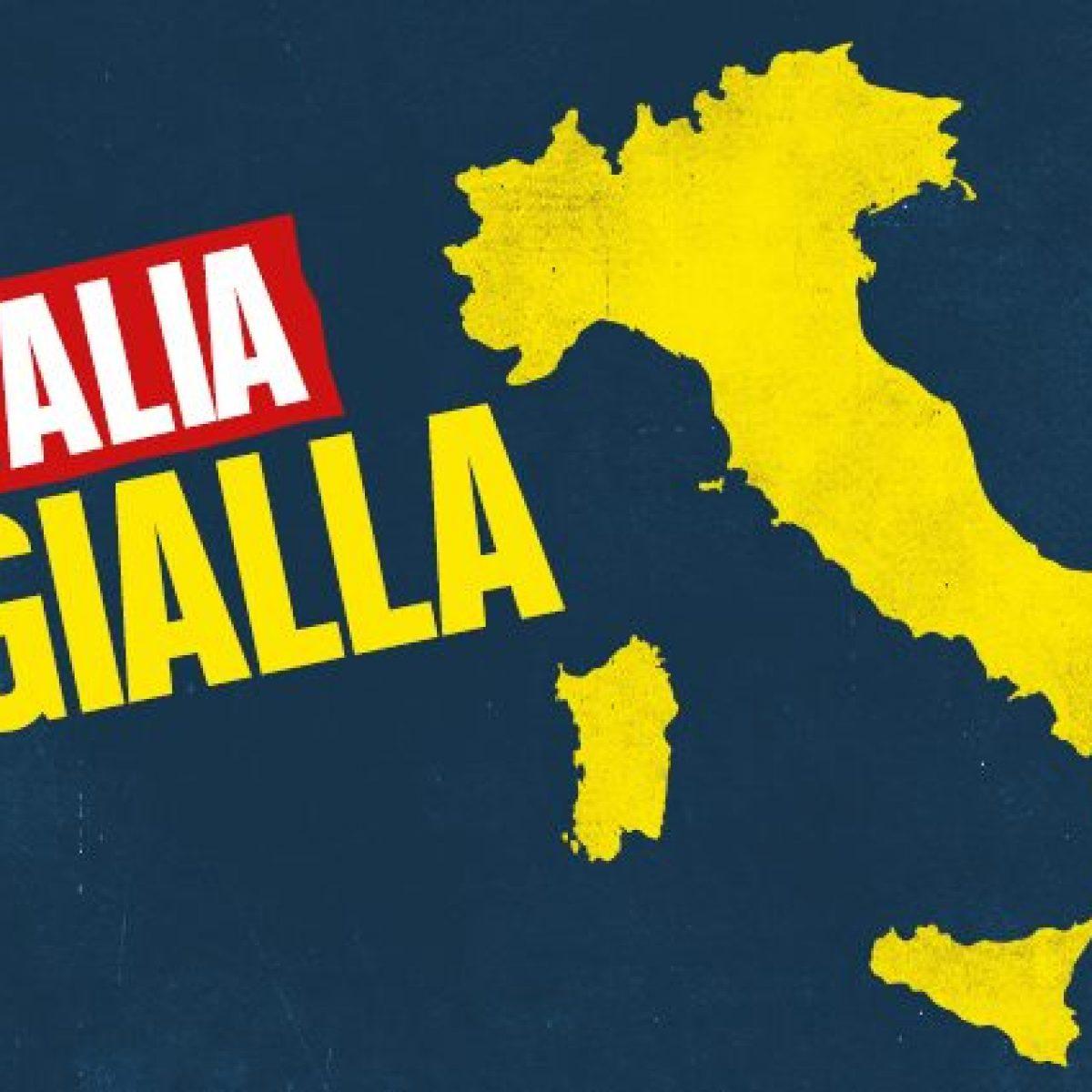 Cartina Lombardia Da Colorare.Quali Regioni Cambiano Colore Domenica 13 Dicembre Lombardia E Piemonte In Zona Gialla