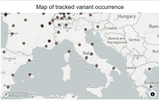 Cartina Geografica Regioni Italia.Il Monitoraggio Delle Varianti Covid In Italia L Elenco Delle Regioni Dove Sono Piu Diffuse