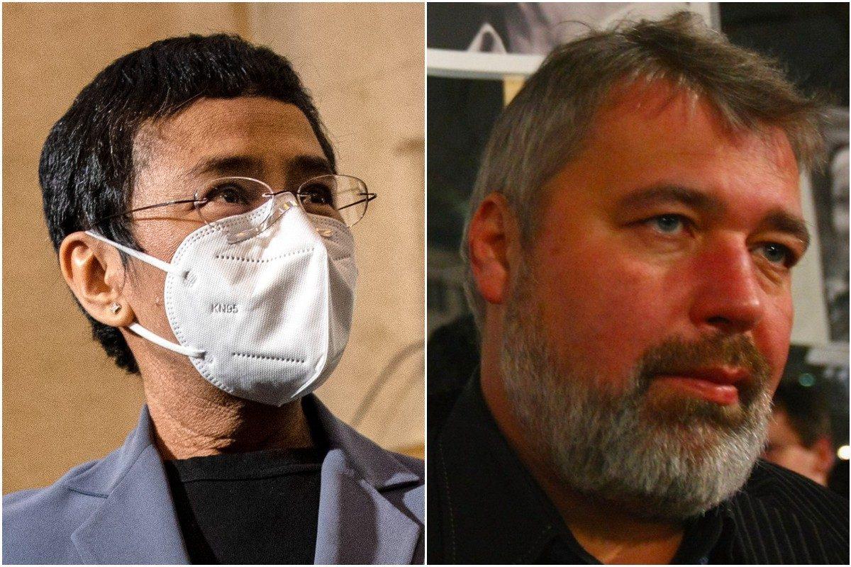 I giornalisti Maria Ressa e Dmitry Muratov hanno vinto il Premio Nobel per  la pace 2021