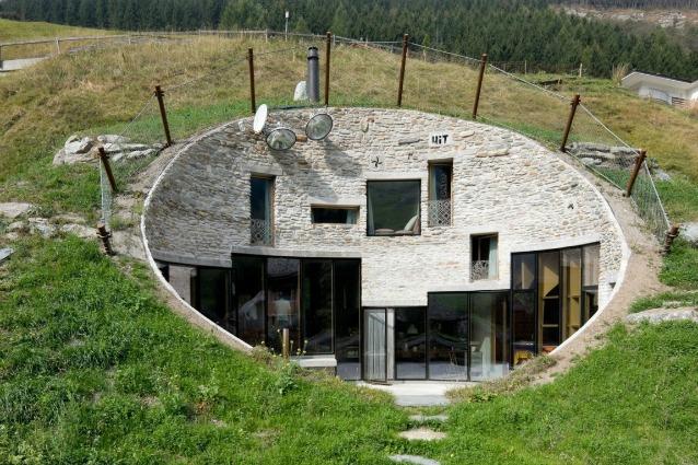 Le 10 case sotterranee pi spettacolari del mondo for Case di design del midwest