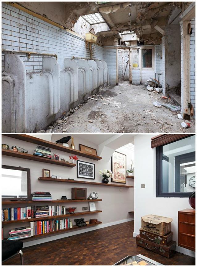 Londra il bagno pubblico diventa una casa di lusso for Case di lusso a una storia