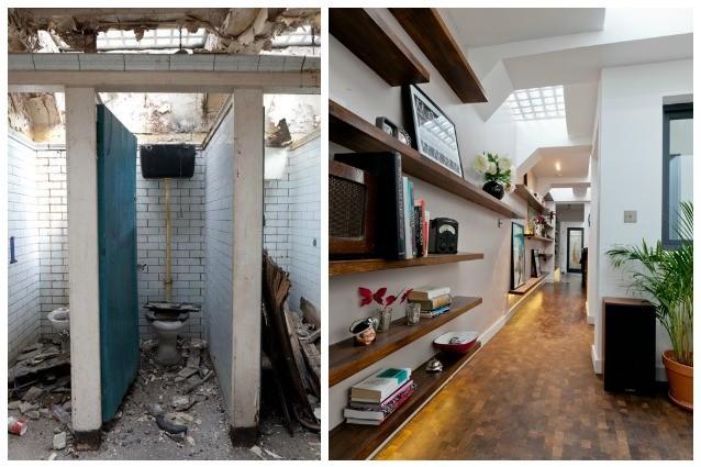 Londra: il bagno pubblico diventa una casa di lusso