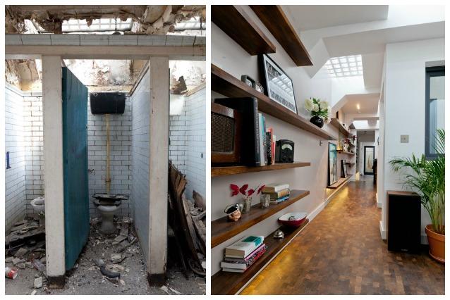 Londra il bagno pubblico diventa una casa di lusso for Una storia piani di casa di lusso