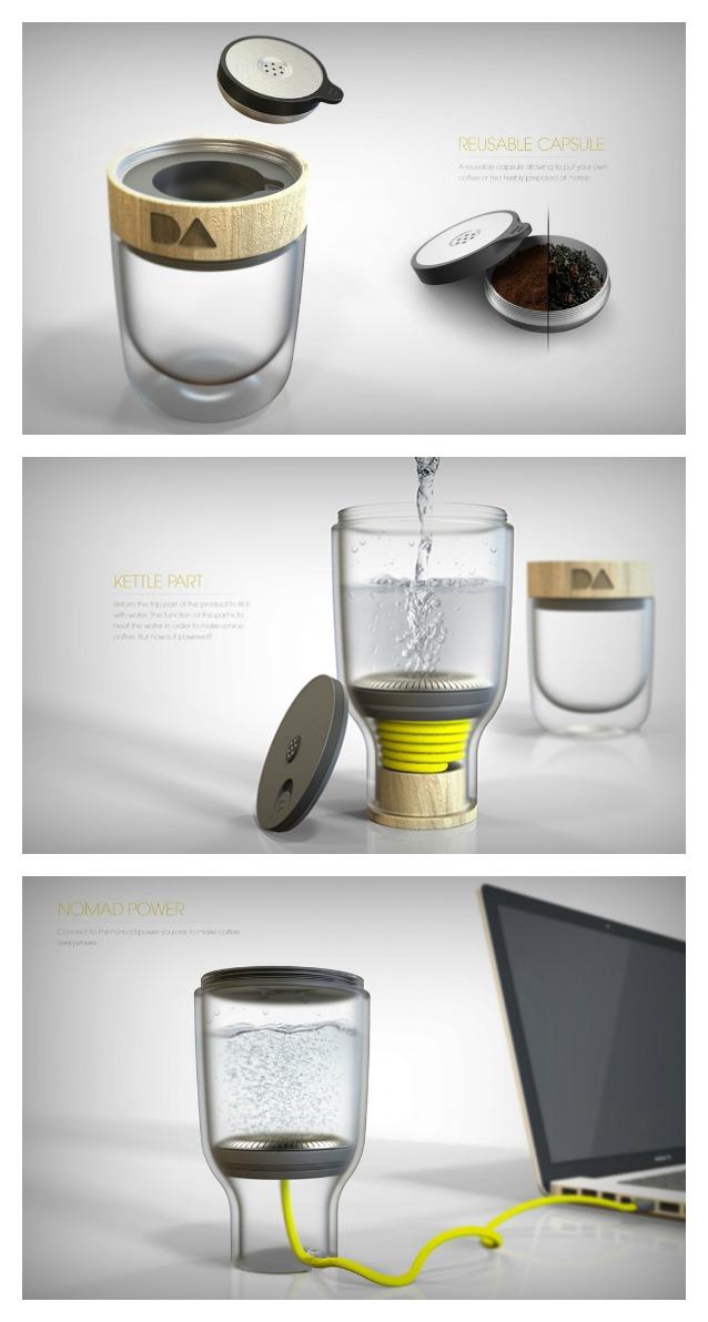 Daily Addiction, la macchina da caffè portatile per un caffè dove e quando vuoi
