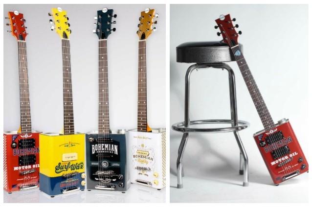 spesso Riciclo creativo come creare chitarre elettriche con le vecchie  IY74
