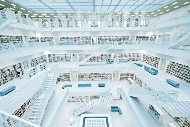 Le 15 biblioteche moderne pi spettacolari del mondo for Le piu belle case moderne
