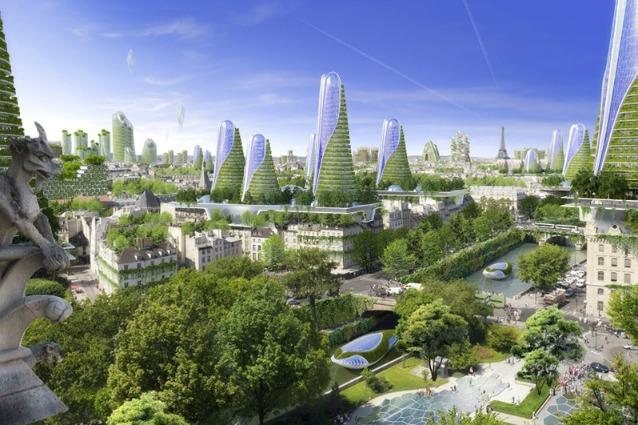 Parigi 2050: ecco come la Ville Lumière diventerà la città più verde del mondo