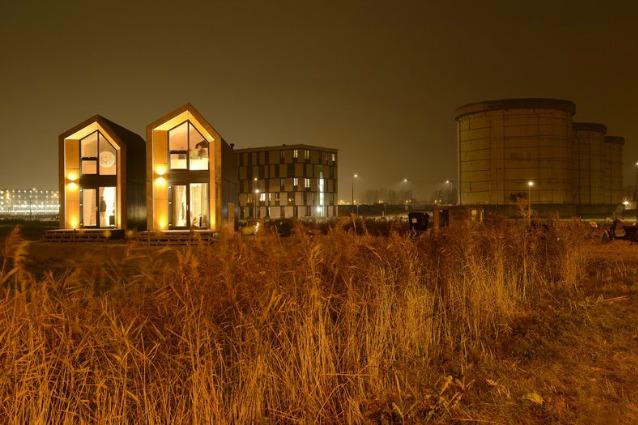Amsterdam: ecco la prima casa in affitto che si sposta in 24 ore