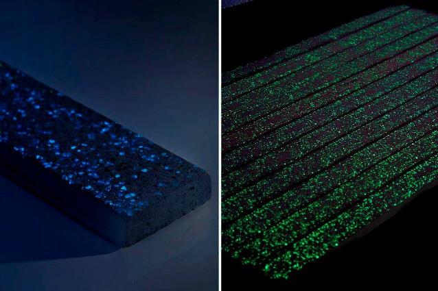 Photoluminescent: il primo pavimento che si illumina di notte senza elettricità