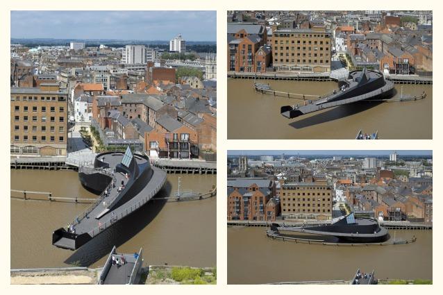 Scale Lane Bridge, il ponte girevole più innovativo del mondo