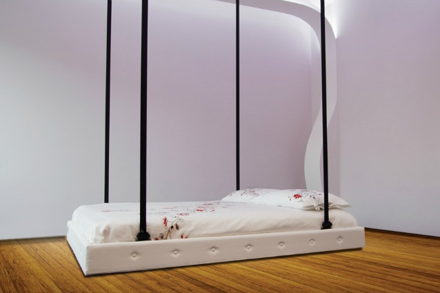Soluzioni salva spazio made in italy il primo letto al for Struttura letto sospeso