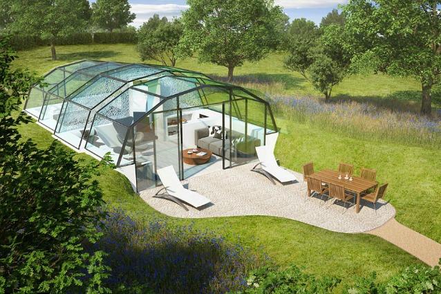 Vivere in una casa di vetro migliorerà la vostra salute