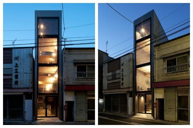 Tokyo ecco la casa pi piccola del giappone ma gli for Piani di casa giapponese