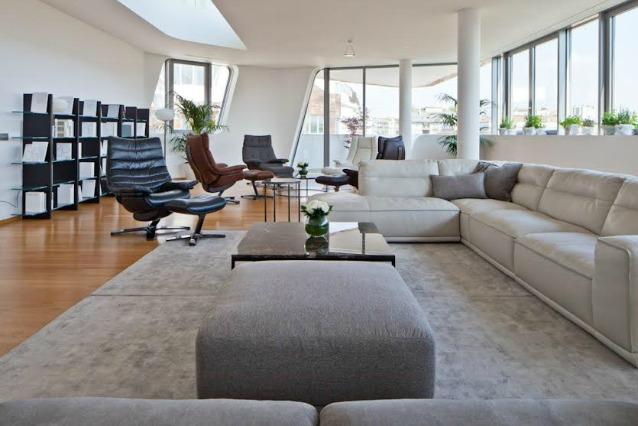 Milano benvenuti nell 39 attico di citylife con vista for Appartamenti interni