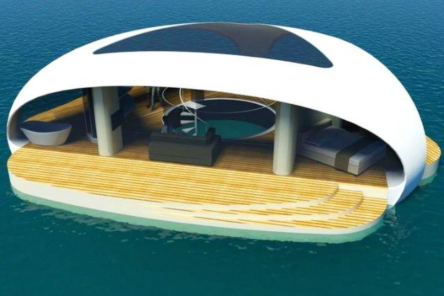 Vivere in mezzo al mare: ecco la nuova era di ville gallegianti