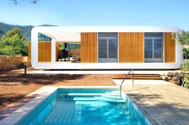 Abitazioni 3 0 ecco la prima casa ecologica che si for Casa ecosostenibile prefabbricata