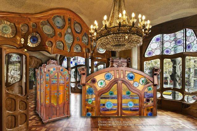 Italia ritrovato l 39 ascensore di casa batll di gaud for Cappuccio da cabina da ballo
