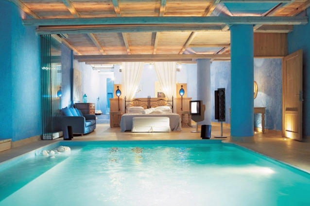 Camera con piscina: le 10 stanze da letto più spettacolari del mondo