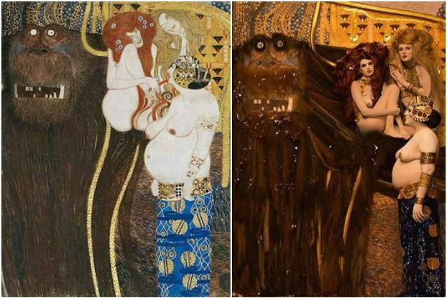 I dipinti di Klimt prendono vita: come sarebbero le sue donne nella realtà?