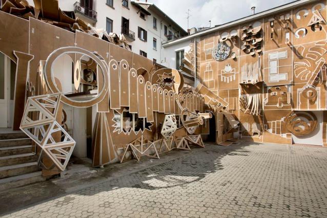 Milano come trasformare il cortile di casa in un cartone