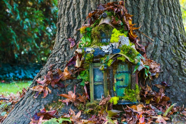 Magia fai da te come realizzare una porta delle fate per for Come costruire una piccola casa a buon mercato