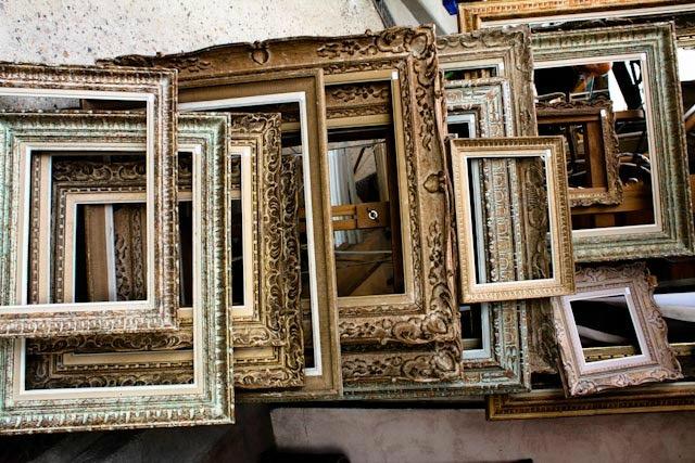Come far rivivere le vecchie cornici 10 idee per for Vendita cornici per quadri