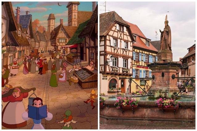 Vivere in una fiaba: 10 luoghi reali che hanno ispirato i cartoni Disney
